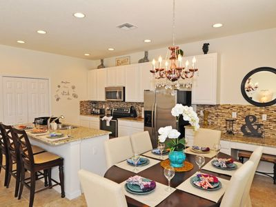 Photo for BEAUTIFUL 4-BDR TOWNHOME w/Private Splash Pool Gated Community, Just Minutes from Disney