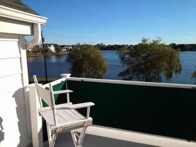Photo for Beautiful Family-friendly House On Wreck Pond, 2.5 Blocks From Beach, Sleeps 12.