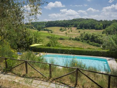 Photo for Apartment La Moraia in Castellina in Chianti - 8 persons, 3 bedrooms