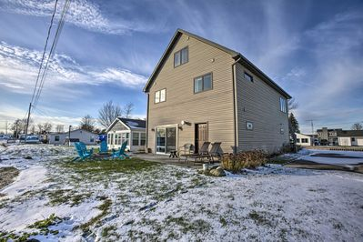 Fall in love with Houghton Lake from this ideally located home.