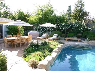 Photo for Country Retreat W/ Pool and Spa in the Heart of Sonoma Valley