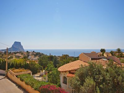 Photo for VILLA TERRACOTA CALPE. *** WITH PRIVATE SWIMMING POOL AND BEAUTIFUL SEA VIEW