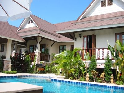 Photo for VIlla Sabai, Private Pattaya villa with luxury Pool/Jacuzzi with FREE CAR HIRE.