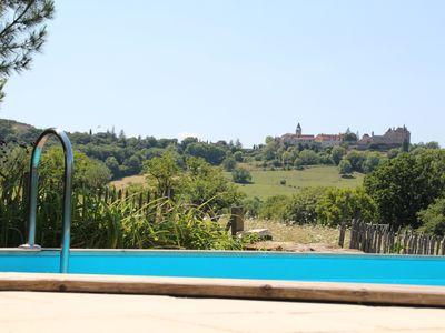 Photo for renovated stone house comfortable with heated pool, Promotion July