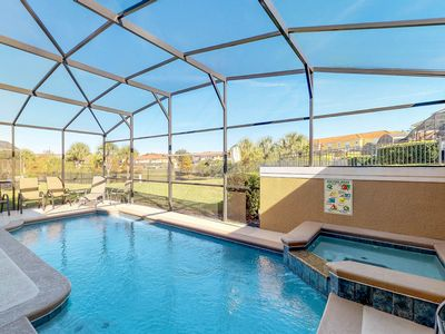 Photo for NEW LISTING! Resort townhouse w/ private pool, shared hot tub - close to Disney!