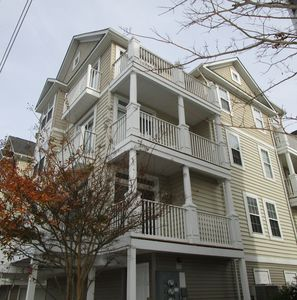 Photo for Beach Block Townhome Perfect For Families - Walk To Beach-Shops-Mini Golf-Dining
