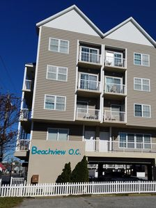 Photo for Large Ocean Block Townhome, Ocean & Bay Views 200 ft from Boardwalk