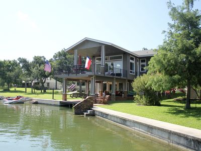 Photo for Waterfront Rental On Beautiful Lake Lbj