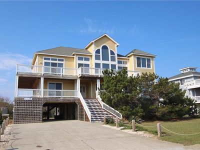 Photo for #474: Partial OCEANVIEW Home in Corolla w/PrivatePool & HotTub