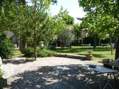 Photo for Old farmhouse in the Luberon park