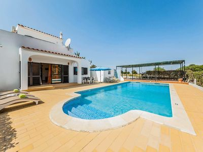 Photo for 3 bedroom Villa, sleeps 6 in Porches with Pool, Air Con and WiFi