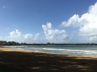 Beautiful  condo , gated property about 200 yards walk from the ocean .