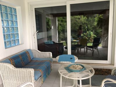 Photo for Villa by the sea, independent with garden 100 meters from the beach