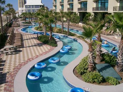 Photo for August Specials! Lazy River Beachfront 8th floor PH West Text Owner 4 Best Rate