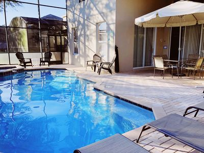 Photo for ☀️Luxurious Villa, All-Day-Sun Pool/Spa, 🗣Special Offer for August! Hurry❗️