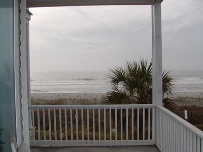 Photo for Folly Beach OCEAN FRONT 3 Bed / 3 Bath (Available May-July only)