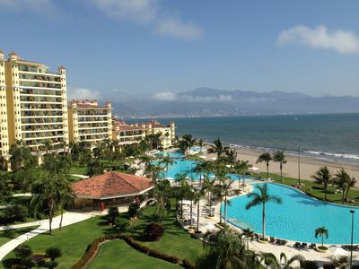 Photo for Puerto Vallarta Beautiful beachfront 2BR/2BA condo;