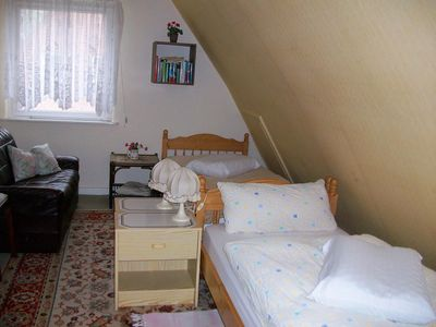 """Photo for Double Room 1 (single bed) - Holiday Room in """"House Balcke"""""""