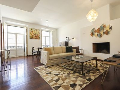 Photo for 2 room apartment in the heart of Lisboa Downtown