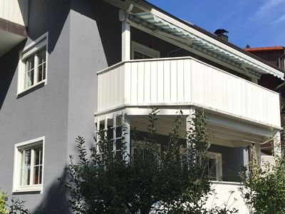 Photo for Bright apartment with balcony outside the city centre of Regensburg