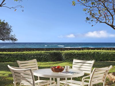 Photo for Poipu Kapili #59: Newly Remodeled Ocean Front. Photos Coming Soon!