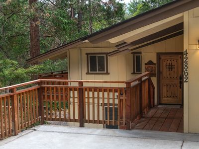 Photo for Sierra Springs WITH AIR CONDITIONING!!! Located in Yosemite Forks Estates 4 bedrooms & 2