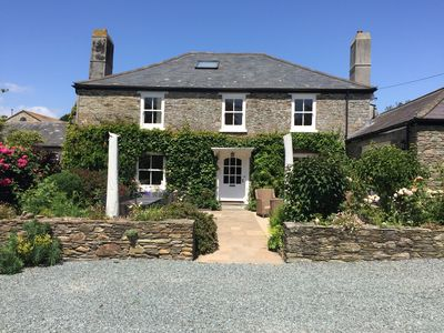 Photo for Stunning Country House with heated pool, gardens, rural location near beach