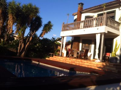 Photo for Villa LA PAZ - Pure peace and relaxation between mountain and sea (Naturist possible)