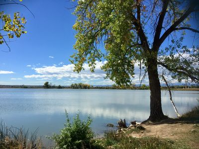Peaceful McKay Lake is great for motor-less boating and fishing