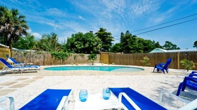 Photo for 7520 3rd Ave W - Private Pool home -3 Bedroom/ 2 Bath , maximum occupancy of 8 people.    Your Home Away from Home!