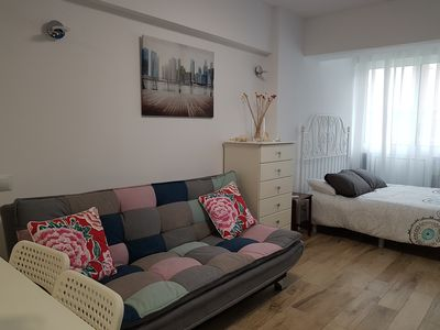 Photo for BEAUTIFUL APARTMENT A METERS FROM THE BEACH