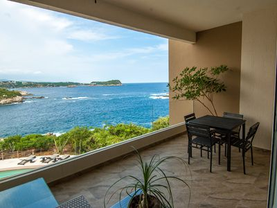 Photo for Oceanfront Oasis Close to Beach With Multiple Onsite Pools in Punta Arrocito