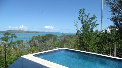 Views to Hamilton Island from the Pool!