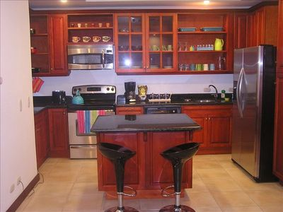 brand new kitchen with all you may need to your vacation