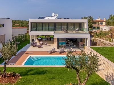 Photo for Amazing design villa near Rovinj with private pool and sauna
