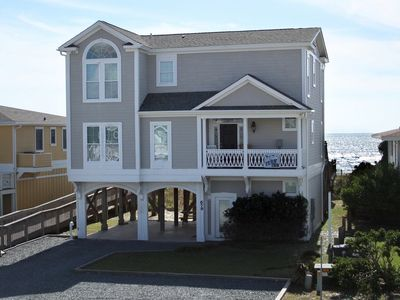 Photo for Beautiful Oceanfront Home with Elevator