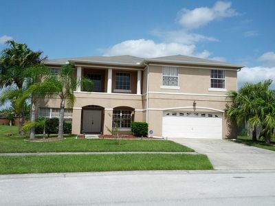 Photo for Luxurious 5 Bedroom Home with Pool & Hot Tub & Games Room Close to Disney