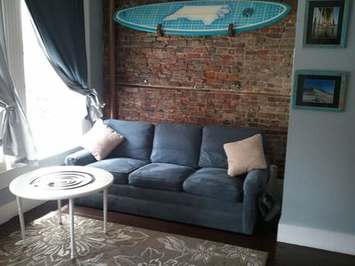 Photo for Downtown Loft over Momentum Surf Shop (THE Heart of Downtown)