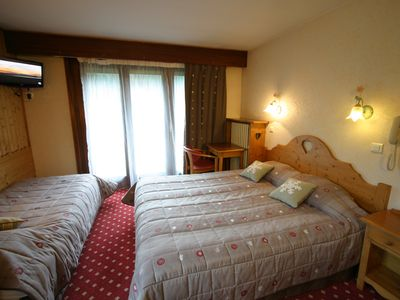 Photo for Triple room, from 1 to 3 persons