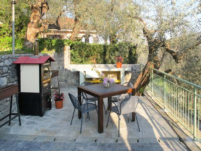 Photo for 2 bedroom Villa, sleeps 4 in Stellanello with Air Con and WiFi