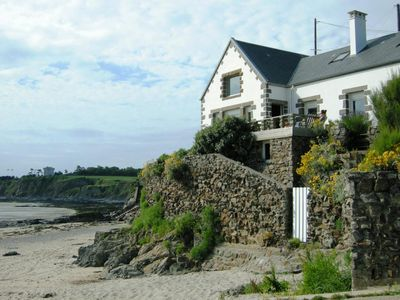 Photo for exceptional location on the beach for this charming villa