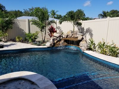 Photo for Lovely home with a heated pool & pet friendly!