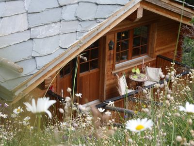 Photo for Single family house with private outdoor jacuzzi & sauna, ski in - ski out