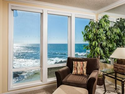 Photo for Oceanfront Master, Bright & Beautiful View & Whale Watch