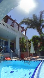 Photo for Villa Kallergi Athena: private pool, garden and sea view,near the beach in Crete