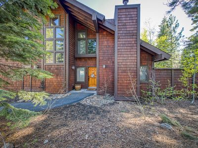 Photo for Rustic home w/ fireplace, chiminea, & access to a shared pool, hot tub & tennis