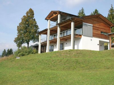 Photo for A unique, modern villa in a superb location with views of the Weissensee