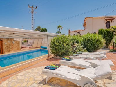 Photo for Lisa house with private pool between Calpe and Moraira