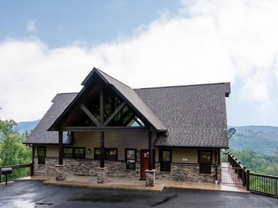 Photo for NEW Gorgeous Luxury Lodge, Spectacular Views in the Heart of Gatlinburg