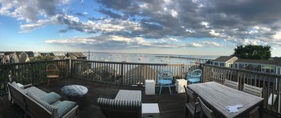 Photo for Best top floor deck and view of the water in Provincetown's Near West End